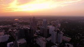 Atlanta antenn stock video