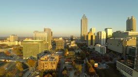 Atlanta antennCityscape lager videofilmer