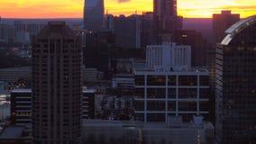Atlanta-Antenne stock video