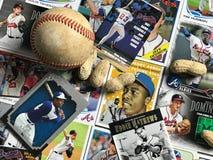 Atlanta Braves vintage collage royalty free stock photo