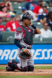 Atlanta Braves Catcher Stock Images