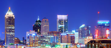 Atlanta céntrica Imagenes de archivo
