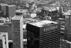 Atlanta céntrica Fotografía de archivo libre de regalías
