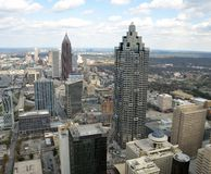 Atlanta city skyline Royalty Free Stock Photo