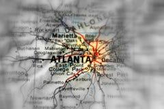 Atlanta, a city in the U.S.