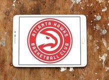 Atlanta colporte le logo d'équipe de basket Photo libre de droits