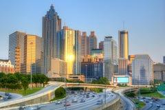 Atlanta da baixa, Geórgia Foto de Stock