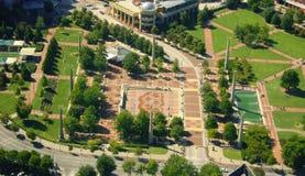 Atlanta da sopra Fotografia Stock