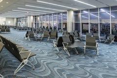 ATLANTA - 19 de janeiro de 2016: Aeroporto internacional de Atlanta, interior, GA Fotografia de Stock Royalty Free