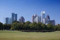 Atlanta, de stad in. stock fotografie