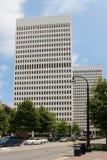 Atlanta de stad in royalty-vrije stock foto's