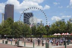 Atlanta del centro, Georgia Fotografie Stock