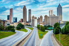 Atlanta downtown skyline Stock Image