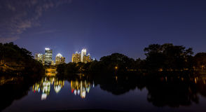 Atlanta Downtown Skyline Royalty Free Stock Image