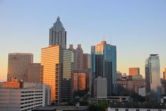 Free Atlanta Downtown Skyline, USA Royalty Free Stock Photography - 61295287