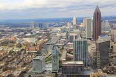Atlanta Downtown Skyline, USA Stock Image