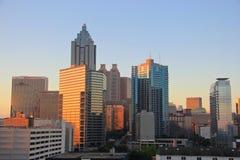 Atlanta Downtown Skyline, USA Royalty Free Stock Photography