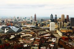 Atlanta& x27 ; extrémité méridionale de s Images libres de droits