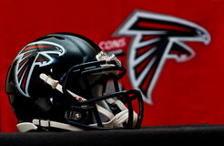 Atlanta Falcons helmet stock photography