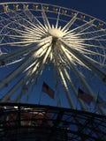 Atlanta Farris Wheel sky wheel Stock Images