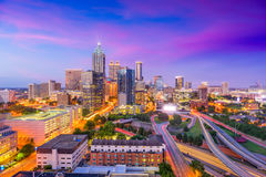 Atlanta, Georgië, de V stock afbeeldingen