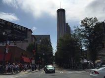 Atlanta, Georgië, het de Stadsleven Van de binnenstad van GA royalty-vrije stock foto's