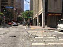 Atlanta, Georgië, het de Stadsleven Van de binnenstad van GA stock foto's