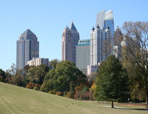 Atlanta, Georgia lizenzfreie stockfotos