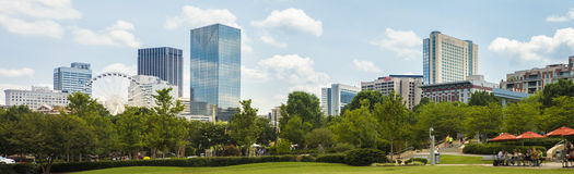 Atlanta, Georgia Imagen de archivo libre de regalías