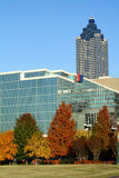 Atlanta, Georgia in Autumn Stock Photo
