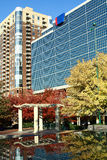 Atlanta, Georgia in autunno Fotografie Stock