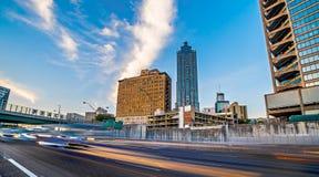 Atlanta georgia city skyline early morning. Atlanta georgia city skyline early  morning Stock Images
