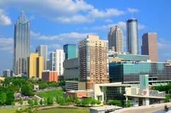 Atlanta Georgia horisont Royaltyfria Bilder