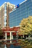 Atlanta, Georgia im Herbst stockfotos