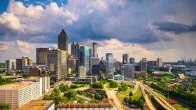 Atlanta, Georgia, los E almacen de metraje de vídeo