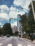 Atlanta Georgia los E fotos de archivo libres de regalías