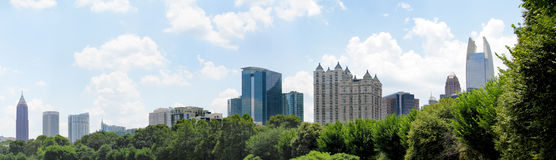 Atlanta Georgia Panoramic Royalty Free Stock Photography