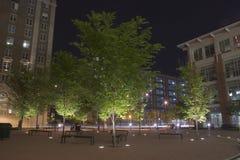 Atlanta Georgia Park at Night Stock Photos