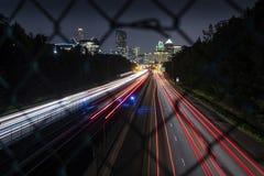 Atlanta Georgia, scape della città di Buckhead immagine stock