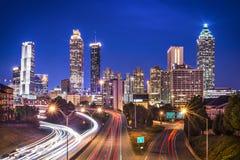 Atlanta, Georgia Skyline Foto de archivo