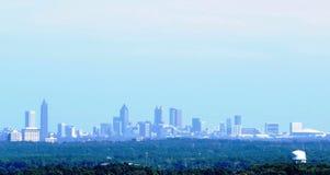 Atlanta Georgia Skyline. Skyline of Atlanta Georgia from atop Big Kennesaw Mountain Royalty Free Stock Photo