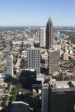 Atlanta Georgia Skyline früh morgens stockfotos