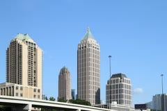 Atlanta, Georgia Skyline, los Estados Unidos de América foto de archivo