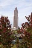 Atlanta Georgia Skyline. Through the trees Royalty Free Stock Images