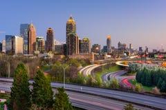 Atlanta Georgia Skyline. Atlanta, Georgia, USA downtown skyline Stock Photo