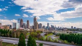 Atlanta Georgia Skyline stock footage
