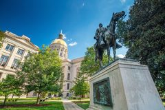 Atlanta Georgia State Capital fotografia stock