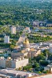 Atlanta Georgia State Capital immagini stock libere da diritti