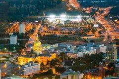 Atlanta Georgia State Capital in U.S.A. immagini stock