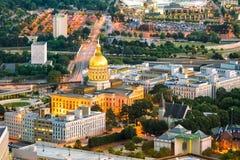 Atlanta Georgia State Capital in U.S.A. immagine stock libera da diritti